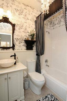 french country bathroom love  toile french bathroom