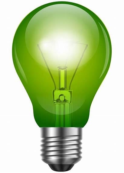 Bulb Clip Clipart Lightbulb Transparent Focos Lighting