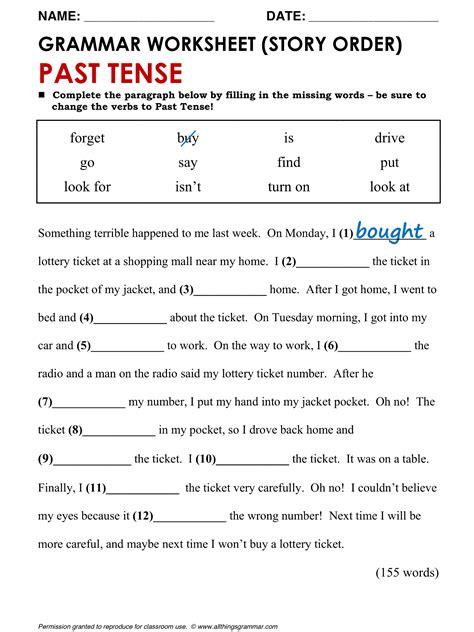 grammar past simple www allthingsgrammar past