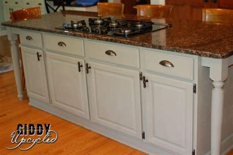 chalk paint kitchen island hometalk give your kitchen island a facelift and some 5217