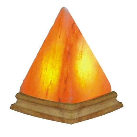 pyramid shaped salt l himalayan salt pyramid shape l ebay