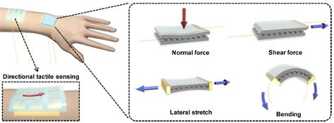 electronic skin detects pressure