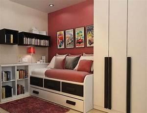 idees rangement pour petite chambre visuel 1 With idee pour petite chambre