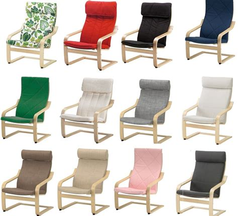 Poang Poltrona by Ikea Poang Armchair Slipcover Replacement Cushion Slip