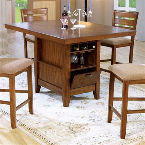 kitchen island dining set counter height 5 dining table kitchen island set