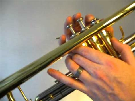 play  trumpet  sharp major scale concert  youtube