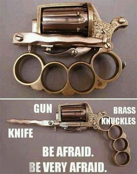 zombie apocalypse weapon weapons survive anti case guns cool need own survival zombies everything things while holdout gun brass knuckles