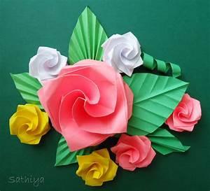 Rosen Aus Papier : my sweet lemons origami rosen ~ Frokenaadalensverden.com Haus und Dekorationen