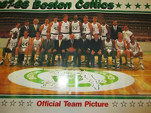 NBA- 1987-88 BOSTON CELTICS OFFICIAL TEAM PICTURE POSTER ...