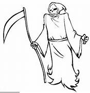 grim reaper coloring book pages printable coloring pages of halloween