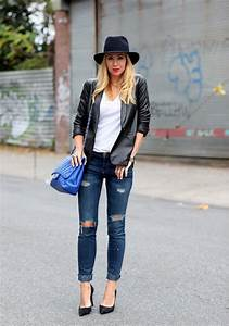 Chic Ways to Wear Distressed Denim u2013 Glam Radar