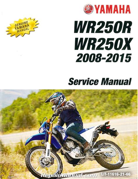motocross bike repairs 2008 2015 yamaha wr250r wr250x motorcycle service manual