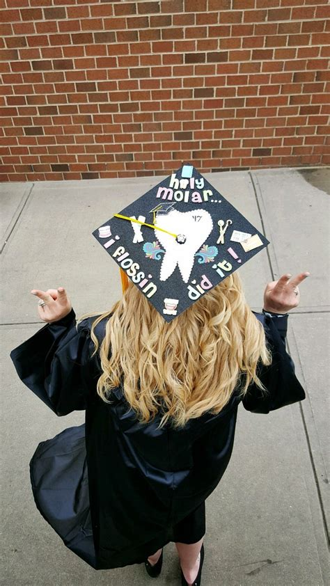 fun grad cap fun dental  dental health