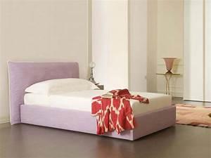 Bett Mit Kopfteil Stoff : bett mit weichen kopfende einzel oder doppel idfdesign ~ Markanthonyermac.com Haus und Dekorationen