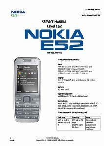 Nokia E52 Sm Service Manual Download  Schematics  Eeprom