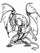 Dragons Coloring Pages Adults Difficult Colouring Getdrawings sketch template