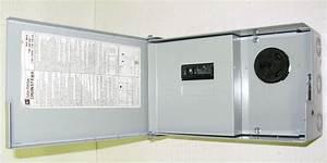 New Cutler Hammer Chu4nsfema 30a Rv Power Outlet Panel