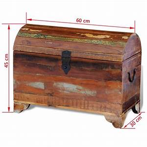 Truhe Aus Holz : truhe aufbewahrungsbox holztruhe aus recyceltem holz im vidaxl trendshop ~ Whattoseeinmadrid.com Haus und Dekorationen