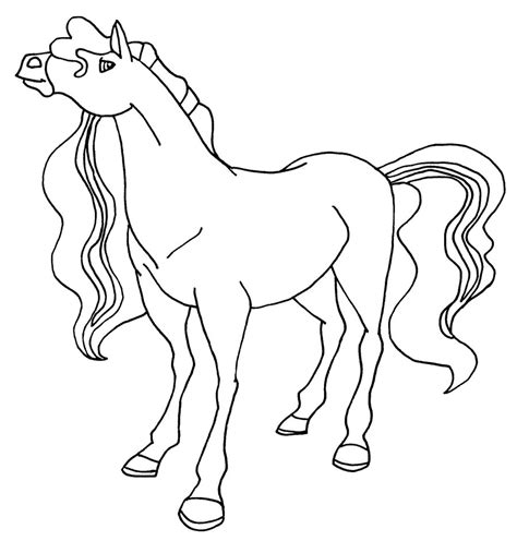 Coloring Horses Pages by Horseland Coloring Pages To And Print For Free