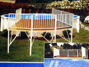 Above Ground Swimming Pool Landscaping Ideas Home