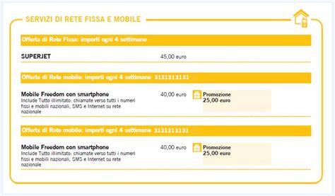 fastweb abbonamento mobile myfastweb come posso gestire la offerta