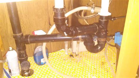 kitchen sink clogged    p trap