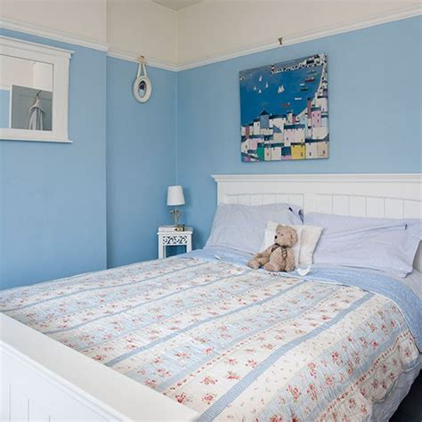 blue and white bedroom pretty blue and white bedroom bedroom decorating 14613 | Blue and White Bedroom Ideal Home Housetohome