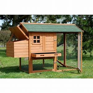 Nid Pour Poulailler : poulailler indiana 2 3 poules plantes et jardins ~ Premium-room.com Idées de Décoration