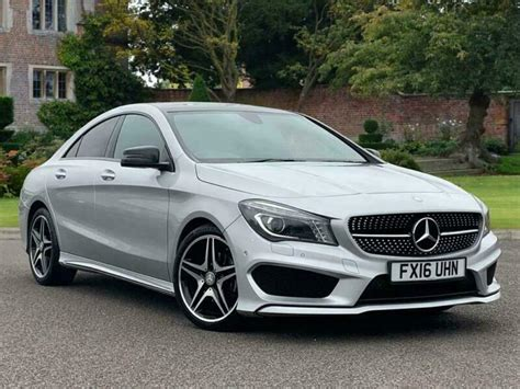 This vehicle seamlessly carries the design of the concept style coupe into series production. Mercedes-Benz CLA Class 2016 CLA 180 AMG Sport 4dr Coupe | in Lincoln, Lincolnshire | Gumtree
