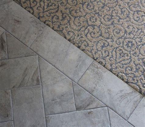 carpet  tile transition ideas   carpet  tile