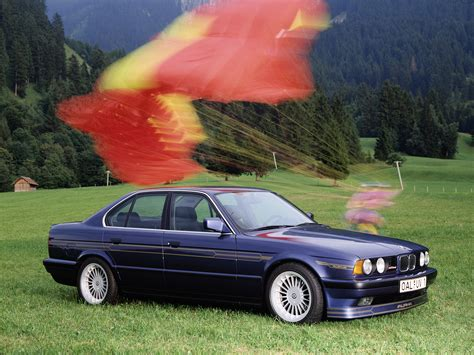 bmw  series  alpina automobiles