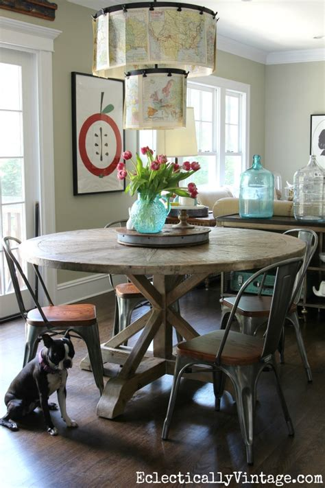 rooms to go farmhouse table rustic wood dining table