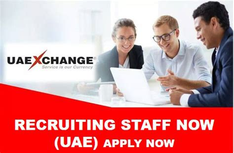 Uae Exchange Hiring Staff Now 2018 !!