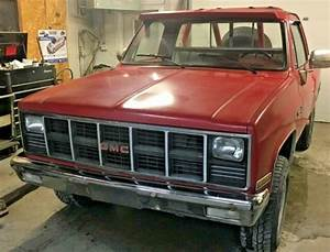 1981 Gmc Sierra Step Side Pickup K10 K15 4x4 Classic Four Wheel Drive Truck For Sale  Photos