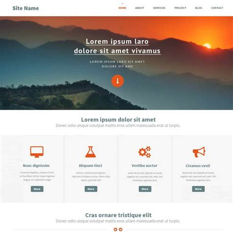Free Templates by Top Ten Newest Free Website Template