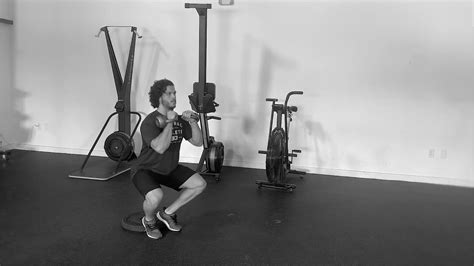 squat cyclist kettlebell