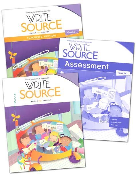 Write Source (2012 Edition) Grade 1 Set (051624) Details  Rainbow Resource Center, Inc