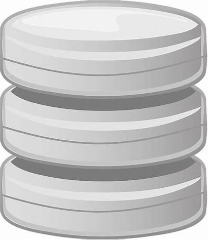 Database Clipart Clip Base Vector Storage Disk