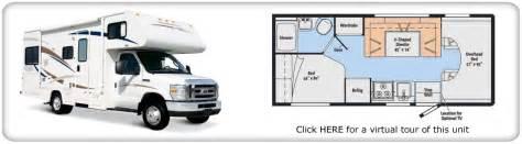 28 foot motorhomes floor plans motorhome 2016