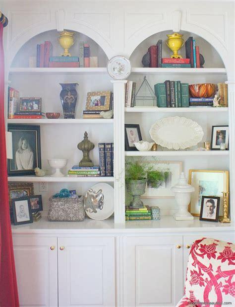bookshelf styling home ideas bright bold  beautiful