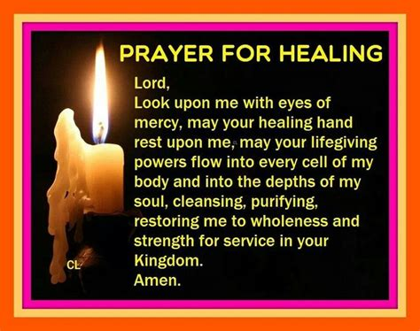 prayer  healing sayings  love pinterest prayer