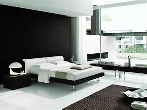 Black Contemporary Bedroom Sets