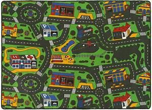 Tapis De Jeu Voiture : tapis de jeu circuit voiture ville 145 x 200 cm ~ Dailycaller-alerts.com Idées de Décoration