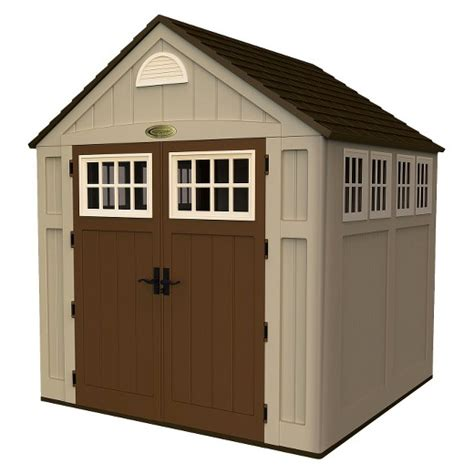 suncast garden shed taupe storage shed taupe suncast target