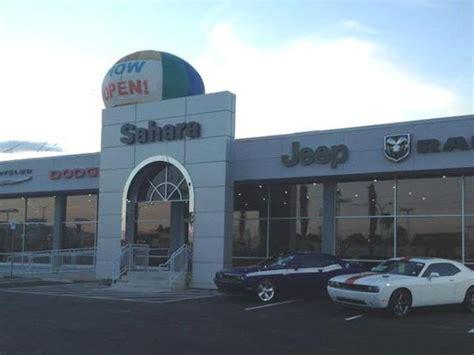 Sahara Chrysler Jeep Dodge Ram Car Dealership In Las Vegas