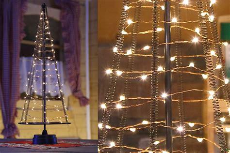 pyramide lichtkegel 50 cm 120 led aus metall weihnachtsbaum deko weihnachten ebay
