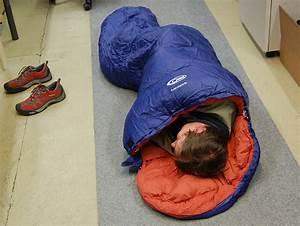Sidenlakan sovsäck