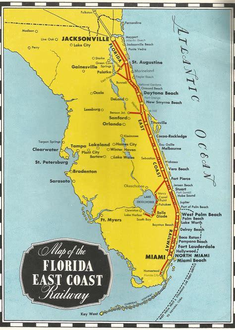 1950s florida east coast railway booklet streamliner