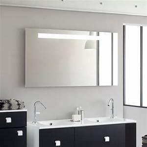 miroir salle de bain le blog de deco et saveurs With miroir moderne salle de bain