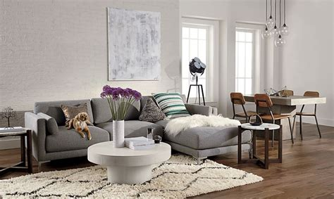 rooms featuring modern sectional sofas